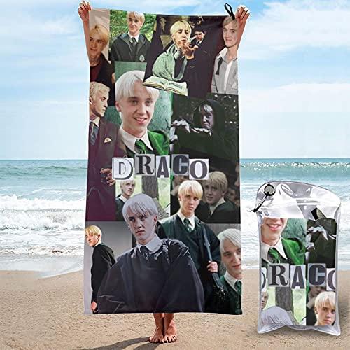 Draco Mal-foy fans regalo anillo slytherin pop barato serpiente anillo toalla playa Sábanas graduación temporada 2021 interior exterior merch
