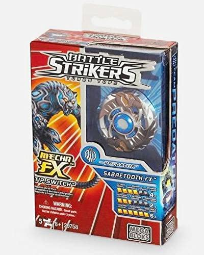 Mega Bloks 29758 - Battle Strikers Team Protator  Sabretooth.FX [Toy]