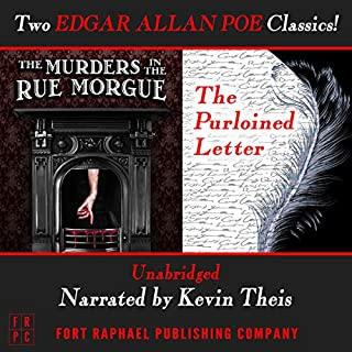 The Murders in the Rue Morgue and The Purloined Letter - Unabridged audiobook cover art