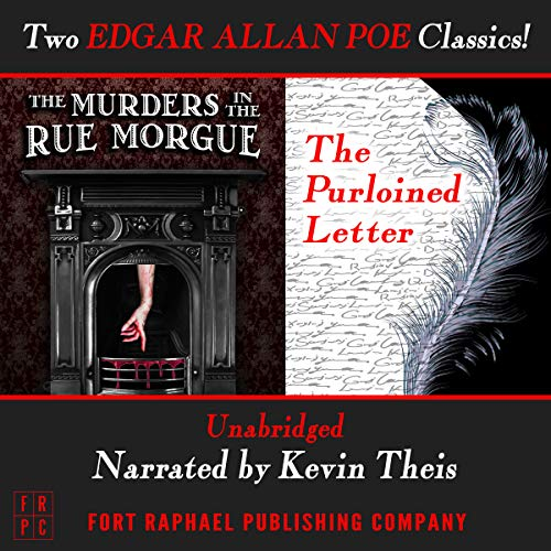 The Murders in the Rue Morgue and The Purloined Letter - Unabridged     Two Edgar Allan Poe Classics!              De :                                                                                                                                 Edgar Allan Poe                               Lu par :                                                                                                                                 Kevin Theis                      Durée : 2 h et 31 min     Pas de notations     Global 0,0