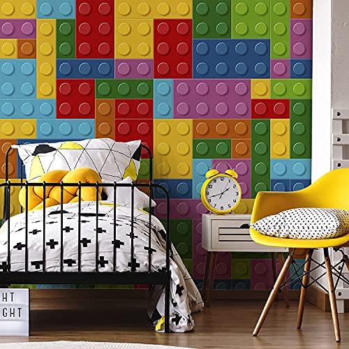 Murales de pared Lego para hogares, oficinas, habitaciones infantiles, guarderías, escuelas, escuelas, escuelas, universidades, eventos (Peel and Stick, 37 x 37 pulgadas)
