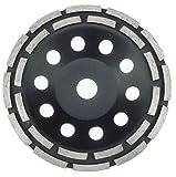 180 mm Diamant Schleiftopf Beton Granit Topfschleifer 24 Segmente Schleifteller