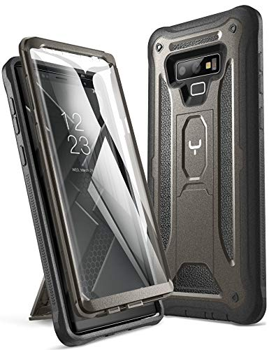 YOUMAKER Kickstand Case for Galaxy Note 9, Full Body with Built-in...
