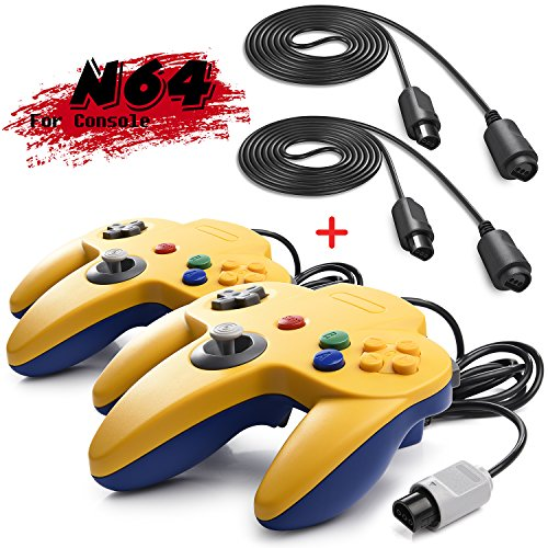 INNEXT 2 Set Retro 64-bit N64 Gamepad Joystick N64