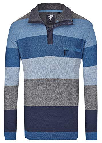hajo Polo & Sportswear Herren Pikee-Sweatshirt