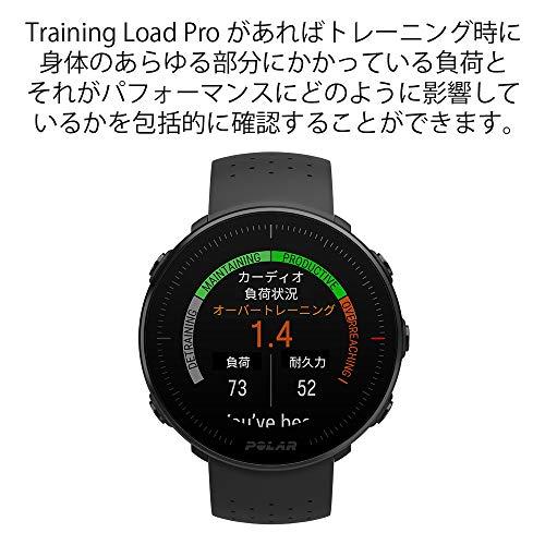 POLAR(ポラール)VANTAGEM軽量GPSスポーツウォッチ防水心拍ランニングマラソン【日本正規品】90069735ブラックM/L