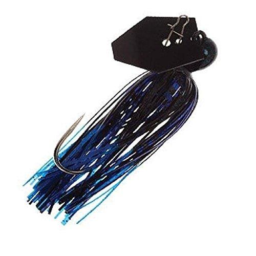 Z-MAN CB-EL12-03 Chatterbait Elite, Black/Blue, 1/2 oz