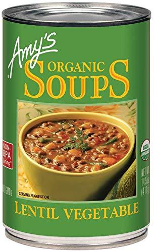 Amy's Jacksonville Mall Organic Lentil Vegetable Atlanta Mall Soup Value Cans Bul 14.5-Ounce