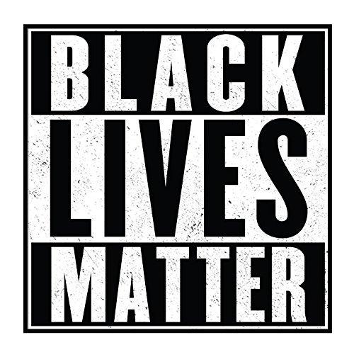 Slang Stickers Black Lives Matter - Adhesivo para Parachoques de 4 Pulgadas