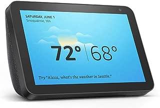 "Introducing Echo Show 8 - HD 8"" smart display with Alexa - Charcoal"