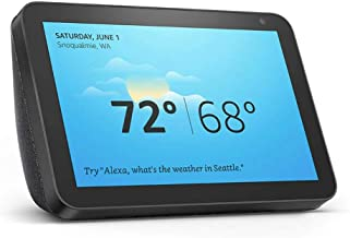 Echo Show 8 - stay connected and in touch with Alexa  - Charcoal