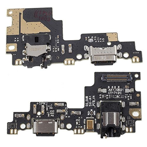 compatibile PER XIAOMI REDMI Mi 5X \\ MI A1 Mi5X MIA1 FLEX FLAT DOCK porta USB type-C RICAMBIO CIRCUITO MODULO DOCK RICARICA + MICROFONO mic