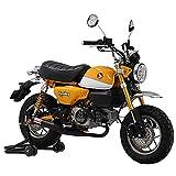 ヨシムラ フルエキゾースト MONKEY125(18) ストレートサイクロン 政府認証 機械曲 ブラック塗装  110A-400-5650