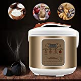 TTLIFE Fermentador de ajo 5L, Nuevo fermentador de ajo Negro, máquina de ajo con Control Inteligente Totalmente automático, máquina de Yogur, Kimchi, máquina de Vino de arroz Dulce, Masa