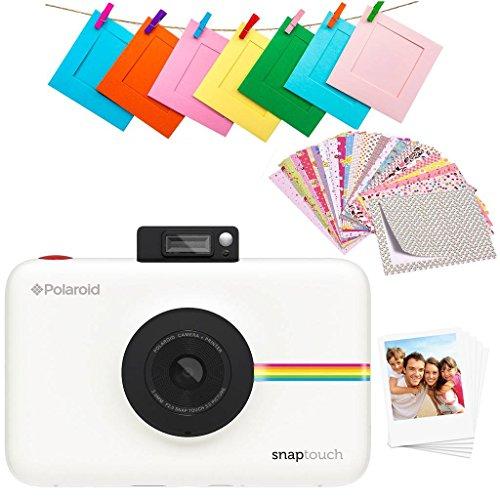 Polaroid Snap Touch 2.0 - Cámara digital portátil instantánea de 13 Mp, Bluetooth, pantalla...