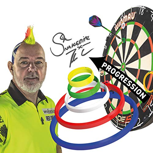 RED DRAGON Peter Wright Snakebite Exklusive & Offizielle Dart-Trainingsringe