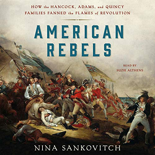 American Rebels audiobook cover art