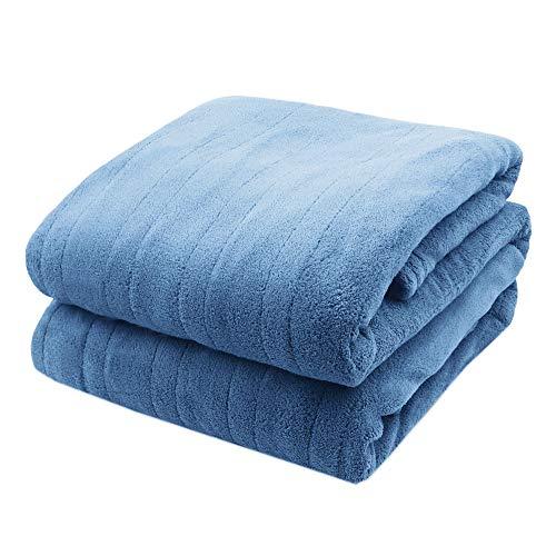 Biddeford MicroPlush Analog King Electric Blanket, Blue