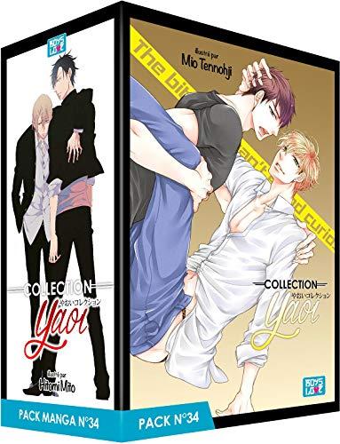 Pack Boy's Love - Partie 34 - 5 Mangas (Livres) - Yaoi