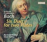 Wilhelm Friedemann Bach: 6 Duette für 2 Querflöten