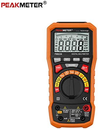 mult/ímetro digital de rango autom/ático tama/ño de la palma de 200 mV-600V 10A AC DC amper/ímetro del volt/ímetro del probador de resistencia Capatitance UNI-T UT33A