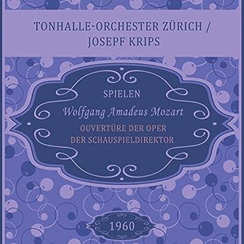 Ouvertüre der Oper Der Schauspieldirektor, Kv 486, Wolfgang Amadeus Mozart, Tonhalle-Orchester Zürich / Josepf Krips (Live)
