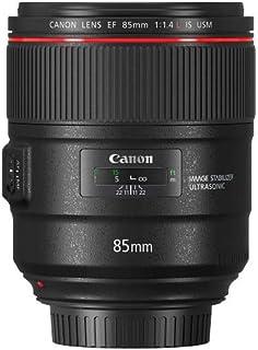 Canon EF 85mm F/1.4L IS USM - Teleobjetivo para cámara (Longitud Focal 85 cm f/1.4 estabilizador de Imagen de 4 Pasos Enfoque automático) Negro