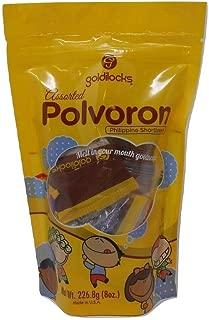 Goldilocks Assorted Polvoron 8oz Pack of 2
