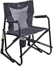 GCI Outdoor Freestyle Rocker Mesh Chair (Pewter Gray)