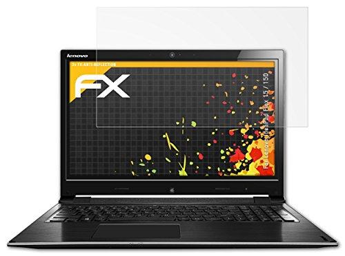 atFolix Panzerfolie kompatibel mit Lenovo IdeaPad Flex 15 / 15D Schutzfolie, entspiegelnde & stoßdämpfende FX Folie (2X)