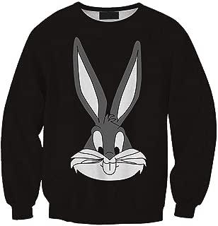Black Polyester Round Neck Hoodie & Sweatshirt For Unisex