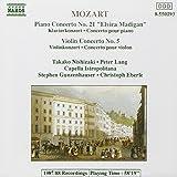 Mozart: Piano Concerto No.21, Violin Concerto No.5