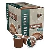 Caza Trail Coffee, Hot Cocoa/Organic Fat Free, 24 Single Serve Cups