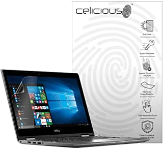 Celicious Matte Anti-Glare Screen Protector Film Compatible with Dell Inspiron 13 7375 [Pack of 2]