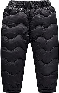 Odziezet Pantalons Chaud Hiver Longue B/éb/és Gar/çon Fille Velours Pantalons Sport Matelass/é Enfants Ski Rayure 1-7 Ans