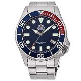 Orient Automatic Sports Diver's 200m Sapphire Pepsi Blue Dial Steel Watch RA-AC0K03L