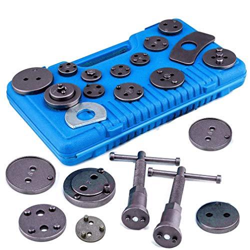Vinkki 22pcs Brake Caliper Wind Back Tool Heavy Duty Disc Brake Piston Caliper Compressor Tool kit...