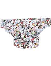 大人用 おむつカバー 失禁パンツ メッシュ素材 通気性 漏れ防止 再使用可能 繰り返し洗濯 パンツ型おむつカバー サイズ調整可能 大人 在宅介護/病院/施設(デザート)