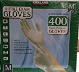 Kirkland Signature Nitrile Exam Gloves, Size Med. 200-Count...
