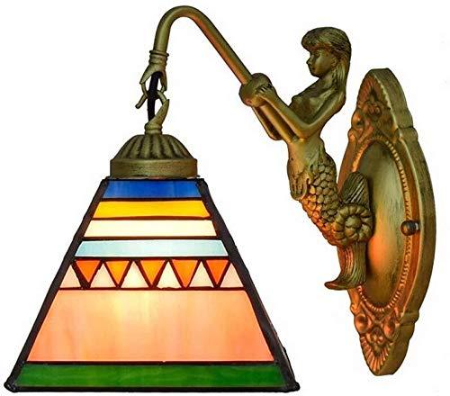 Wandlamp Chiara Goede lampenkap voor kleine nachtlampjes, romantisch gevoel.