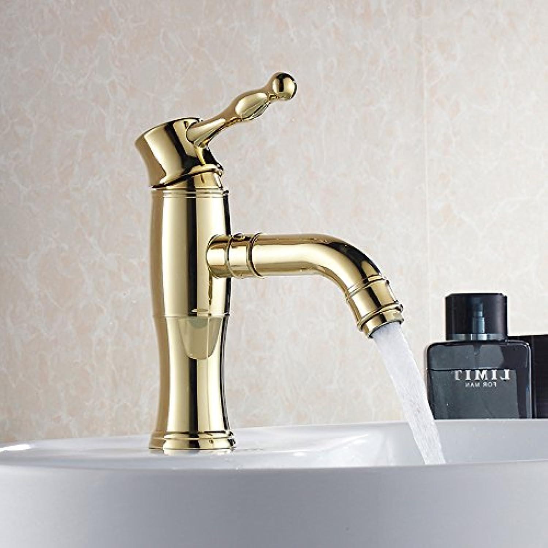 Retro Deluxe Fauceting Modern Kostenloser Versand Waschtisch Armatur Kaltes und Warmes Wasser Mixer Single Handle MD 1A 9016 AB, Messing, MD 1A 9015 A