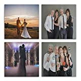 Personalized Canvas Wall Art Custom Prints with Your Photo...