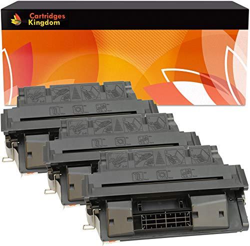 Cartridges Kingdom 3-er Pack Toner kompatibel zu HP C4127X 27X für HP Laserjet 4000, 4000N, 4000SE, 4000T, 4000TN, 4050, 4050N, 4050SE, 4050T, 4050TN, Canon LBP-1760