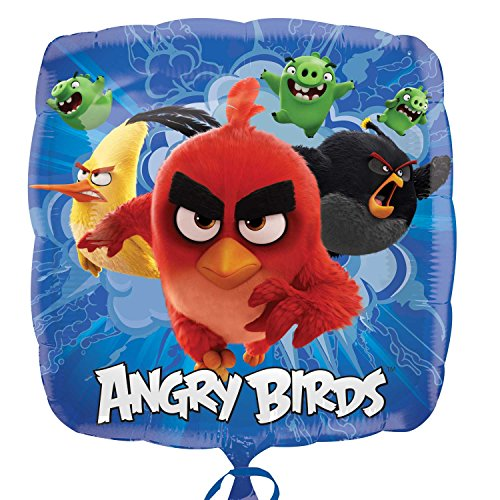Amscan International 8.232.396,5 cm Angry Birds Film Standard Folie Ballon