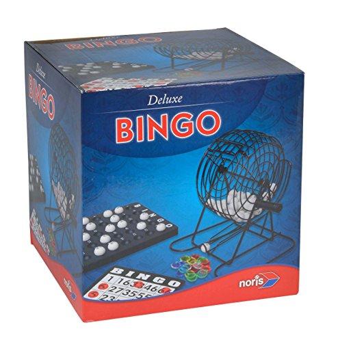 Noris 606108011 Deluxe Bingo, spelklassieker