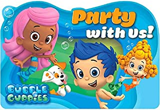 bubble guppies invitations with picture