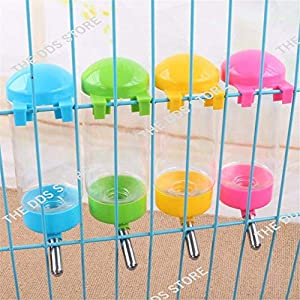 The DDS Store Pet Supply Drip Less Pet Drinking Fountains No Drip Dog Water Bottle Dispenser Kettle with Automatically Feeding Water 350.ml (Color May Very)