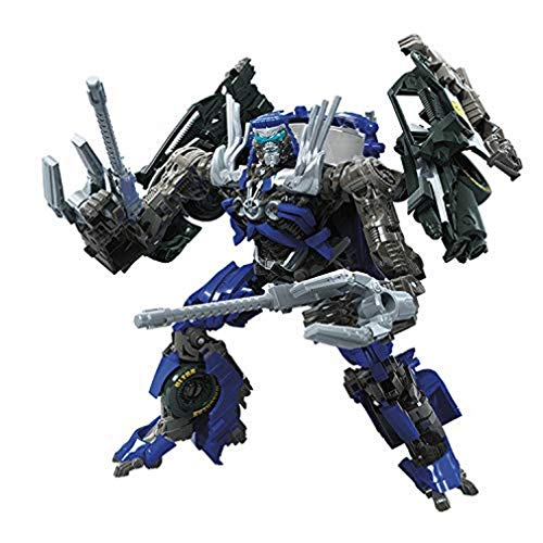 Transformers Toys Studio Serie 63 Deluxe Class Transformers: Dark of The Moon Movie Topspin Actionfigur – Kinder ab 8 Jahren, 11,4 cm