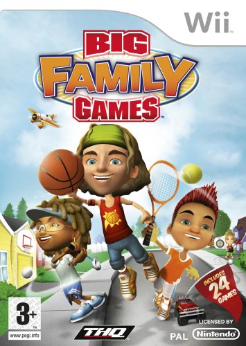 Big Family Games (Wii) [Edizione: Regno Unito]