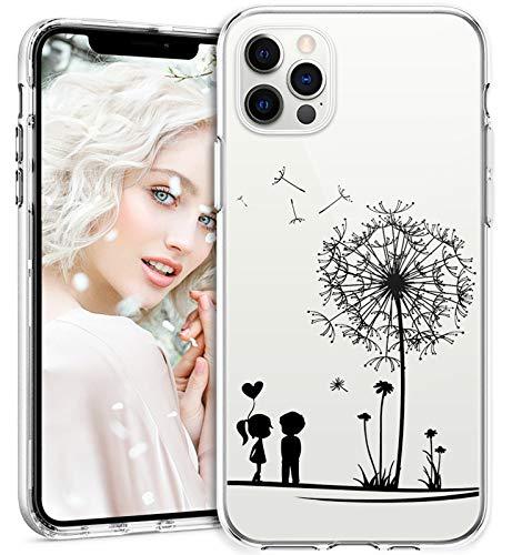 2Buyshop Custodia per iPhone 12 PRO Max 6.7 Cover in Silicone Trasparente Ultra Sottile Marmo Case Morbido Bumper Cover iPhone 12 PRO Max Antiurto Protettivo Caso iPhone 12 PRO Max Custodia